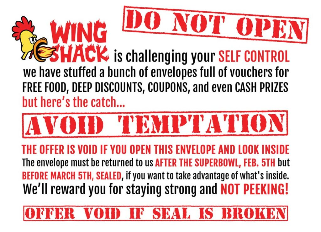 Wing Shack Coupons >> Get Your Wing Shack Super Bowl Preorders In Today Wing