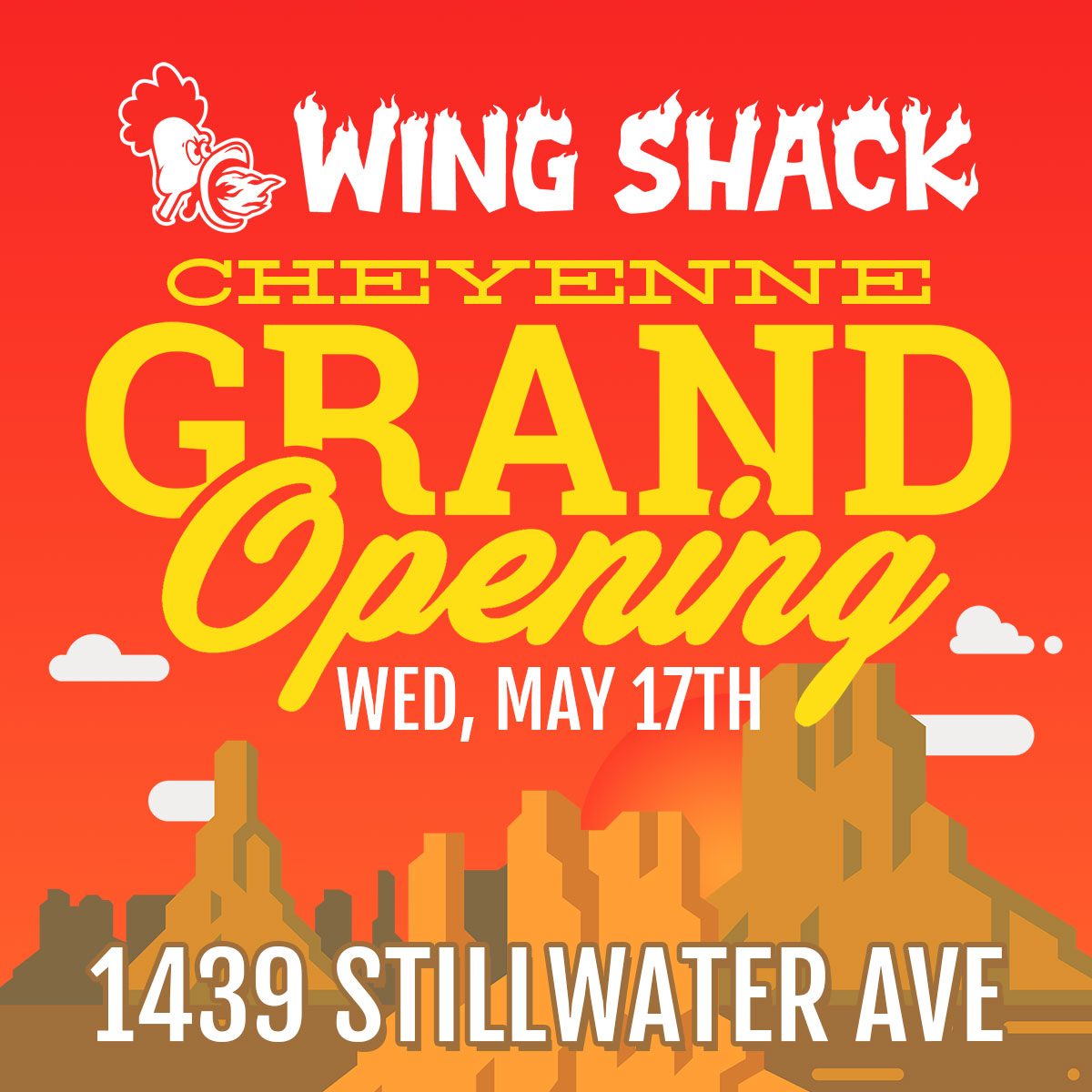 Wing Shack Coupons >> Wing Shack Cheyenne Grand Opening On May 17th Wing Shack Wings